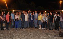 İYİ Parti Manisa Milletvekili adayı Hasan Eryılmaz Akhisar'a çıkarma yaptı