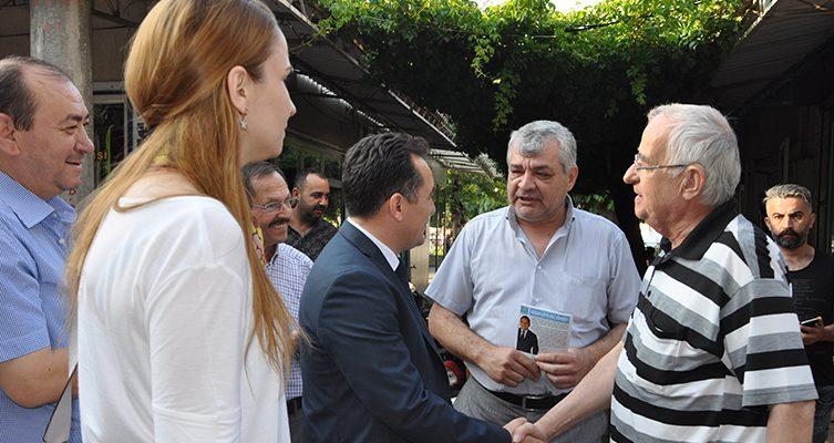 """İYİ Parti adayı Eryılmaz, """"Çiftçiye vermedikleri krediyi yandaşlara verdiler"""""""