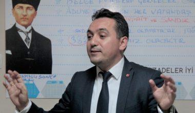 """İYİ Parti adayı Hasan Eryılmaz """"işçiler ay sonunu getiremiyor"""""""
