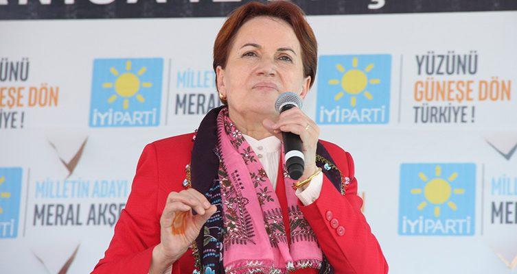 Meral Akşener Manisa'da Erdoğan'ın vaadlerini yerden yere vurdu
