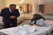 Başkan Çerçi'den hastalara 'geçmiş olsun' ziyareti
